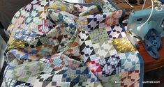 Sugar Bowl Quilt FREE Pattern from Bonnie Hunter