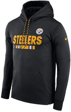 Nike Men s Pittsburgh Steelers Therma Hoodie Men - Sports Fan Shop By Lids  - Macy s f06ea5180