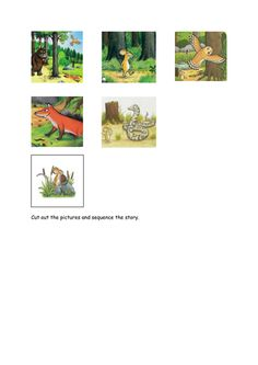 The Gruffalo Word Mat by - Teaching Resources - Tes Gruffalo Activities, Sequencing Activities, Language Activities, Sequencing Cards, Story Sequencing, Gruffalo's Child, Child Teaching, The Gruffalo, Funny Tattoos