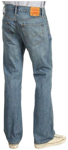 e07d6ae1837 Levi's Men's 527 Slim Boot Cut Jean, Jagger, Regular fit in seat and thigh