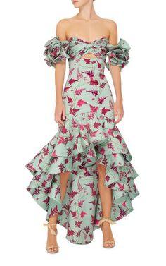 M'O Exclusive Clarissa Dress by Johanna Ortiz Dress Outfits, Fashion Dresses, Dress Up, Havanna Party, Moda Floral, Evening Dresses, Summer Dresses, Look Fashion, Beautiful Dresses