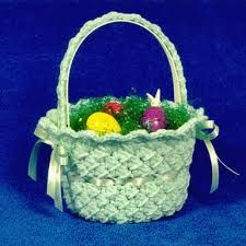 Easter Bunny Basket Crochet - Google Search