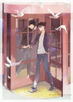 Super Manga, Detective Conan Shinichi, Magic For Kids, Detektif Conan, Kaito Kuroba, Detective Conan Wallpapers, Kaito Kid, Amuro Tooru, Kudo Shinichi