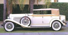 1930 Auburn V-12 Custom 4-door Convertible Phaeton