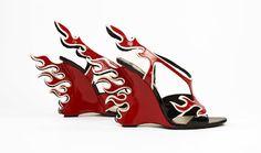 Bata Shoe Museum: Car-inspired shoes by Prada