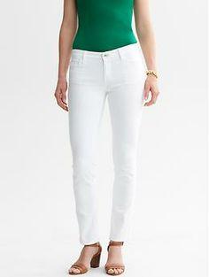 White Skinny Ankle Jean | Banana Republic
