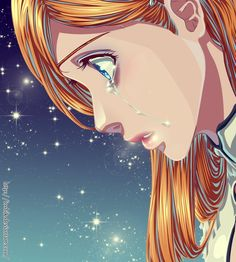 bleach 349 original art by kubo tite Orihime Inoue Orihime Inoue Bleach Anime, Bleach Fanart, Sad Anime, Manga Anime, Anime Art, Shinigami, Tokyo Ghoul, Ichigo E Orihime, Fairy Tail