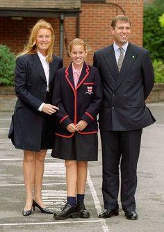 TRH the Duke of York, Princess Beatrice and Sarah, Duchess of York