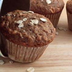 Vegan Apple Crisp Muffins Recipe--  These are delicious and so low fat!