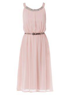 Elise Ryan Grecian Trim Dress