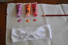 No Sew Headbands made from t-shirts