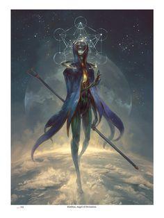 Eistibus, Angel of Divination (Limited Edition) — Angelarium