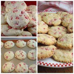 Homemade Cherry Chip Cookies