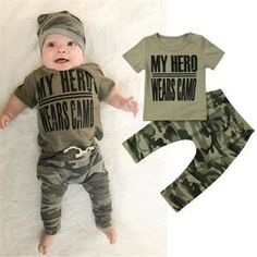 Here is Baby Camo Outfit Idea for you. Baby Camo Outfit hot deal 3961 ba boy camo clothes set newborn kids t. Newborn Boy Clothes, Newborn Outfits, Toddler Outfits, Baby Boy Outfits, Kids Outfits, Camo Clothes, Cute Camo Outfits, Outfits With Hats, Coming Home Outfit Boy