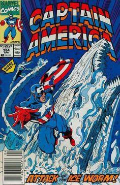 Cover for Captain America (Marvel, 1968 series) #384 [Direct Edition]