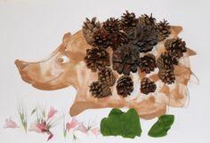 Kakaový ježeček.