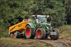 TRACTOR - Fendt & Joskin Farming, Tractors, Engineering, Vehicles, Heavy Machinery, Weights, Good Job, Car, Technology