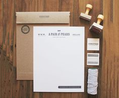 Here are some beautiful examples of design and branding in promotional collateral.