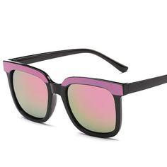 c88f2daab33d New Flat Top Mirror Sunglasses Woman Brand Design Vintage Colorful Cat Eye  Sun Glasses For Women Lunettes Gafas Oculos Feminino
