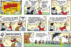 Hagar the Horrible Comic Strip for August 11, 2013