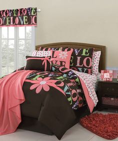 Take a look at this Madeline Juvi Comforter & Sheet Set by Victoria Classics on #zulily today!
