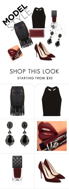 """""""Untitled #1"""" by ilvana-mujkic ❤ liked on Polyvore featuring Alice + Olivia, Givenchy, Fiebiger, Gucci and Valentino"""