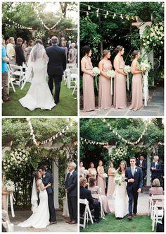 Romantic Garden Ceremony/LSL Event Design
