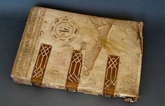 from Montefiascone Conservation Project Medieval Books, Medieval Manuscript, Cheryl Porter, Book Background, Book Of Poems, Historical Artifacts, Bound Book, Handmade Books, Old Books