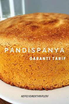 Pandispanya Tarifi – İstisna Tatlar – Nefis Yemek Tarifleri Sponge Cake Recipe the the the I on # Is sunumöneml Yummy Recipes, Dessert Recipes, Yummy Food, Desserts, Best Bread Recipe, Bread Recipes, Food Cakes, Sponge Cake Recipes, Coconut Macaroons