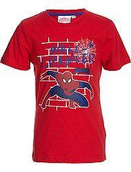 Tee-shirt 'Spiderman' manches courtes