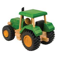 wooden digger by knot toys | notonthehighstreet.com