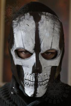Ghost Mask by SatanaelArt on Etsy, $80.00
