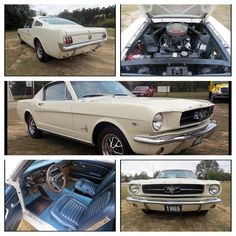 1965 Ford Mustang 289 CI, 4-Speed