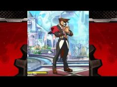 Guilty Gear Xrd -SIGN- idle animations