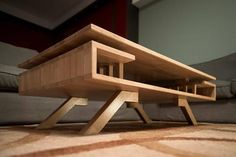 Concrete Furniture, Metal Furniture, Home Decor Furniture, Modern Furniture, Furniture Design, Coffe Table, Coffee Table Design, Modern Coffee Tables, Woodworking Inspiration