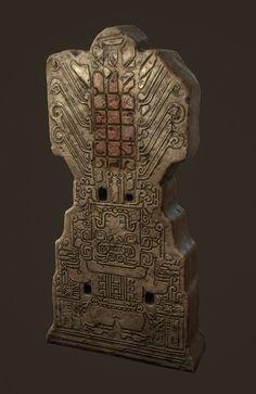Aztec totem, Oleg Tsitovich