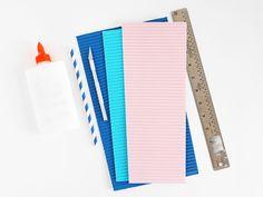 hello, Wonderful - DIY CORRUGATED PAPER BEAD NECKLACES