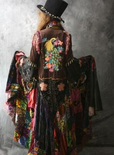bohemian rhapsody .. Looks Stevie Nicks Style to me. Just love to have it... Love that Jacket... CTH