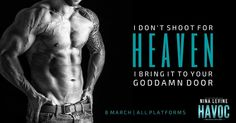 Havoc (Storm MC, #8) by Nina Levine - #CoverReveal - #Giveaway ($50.00 Amazon Gift Card) - Add it to your TBR! - iScream Books