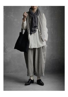 New 2/23(fri)10:00。【送料無料】Joie de Vivreベルギーリネンワッシャースキッパープルオーバー Classic Outfits, Chic Outfits, Fashion Outfits, Womens Fashion, European Fashion, Unique Fashion, Mori Fashion, Baggy Clothes, Clothes 2019