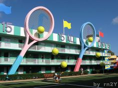 Disney All Star Sports | Pinned by Mousefan in a Minivan | #disneyworld #disney #resort #hotel #travel #vacation