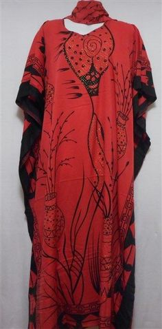 Women's Dashiki Dress African Kaftan Boho Caftan Gown w/headpiece Plus Size Red Dashiki Dress, Kaftan, African Inspired Fashion, African Fashion, Black Nativity, Plus Size Beauty, Gowns, Style Inspiration, Boho