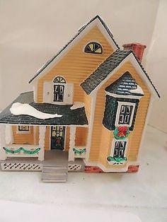 Dept 56 Snow Village - Woodbury House - Very Good Condition! #54445