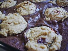 Bacon Peanut Butter Cookie Brownies