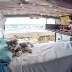 Tiny Van Travels Ford Transit Conversion Vanlife | Go-Van