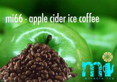 "mi66 - ""apple cider ice coffee""     .  koffie I appelbier I vanilla ice cream I suiker I lemon Iced Coffee, Apple Cider, Cocktails, Beef, Food, Craft Cocktails, Meal, Essen, Cocktail"