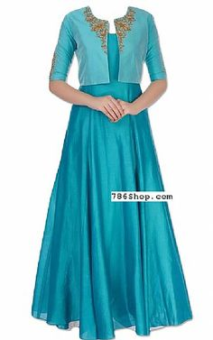 Pakistani Dresses online shopping in USA, UK. Gown Party Wear, Party Wear Indian Dresses, Indian Gowns Dresses, Dress Indian Style, Indian Fashion Dresses, Indian Designer Outfits, Fashion Clothes, Long Dress Design, Dress Neck Designs