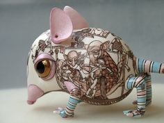 Ceramic Creature. Accidentally found on a strange Russian website.