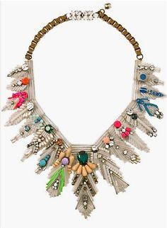 Shourock statement necklace