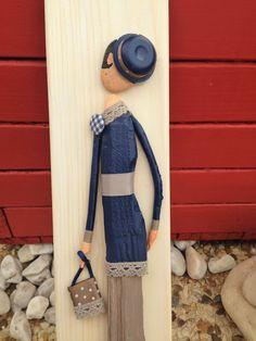 Mademoiselle Agatha du bois flotté : Autres art par les-toiles-de-mer-de-syl